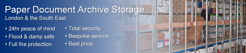 Document and Archive Storage Essex